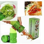 Vegetable Fruit Twister Spiral Vegetable Fruit Slicer Zucchini Spaghetti Pasta Maker Chef Spiralizer Zoodle Veggie Noodle Pasta :Pasta Maker