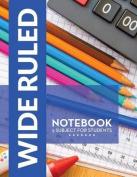 Wide Ruled Notebook - 5 Subject for Students