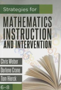 Strategies for Mathematics Instruction and Intervention, 68