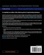 Google Hacking for Penetration Testers 2e
