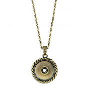 Ginger Snaps AB PENDANT NECKLACE SN90-46 Interchangeable Jewellery Accessory SN90-46