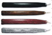 Gothic Assortment (Black, Brown Pearl, Granite, Silver Metallic) Waterstons Scottish Sealing Wax with wick - 4 Sticks
