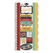 Forever Family Cardstock Sticker-Kindred Border