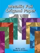 Metallic Foil Origami Paper-13cm - 2.2cm x 15cm 18/Pkg