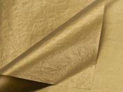 Gold / Gold Metallic Tissue Paper 20 X 30 - 10 Sheets