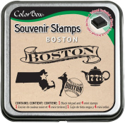 Clearsnap ColorBox Souvenir Stamps, Boston
