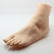 Twinklefilter Female Left Vivid Foot Mannequin Jewerly Sandal Shoe Sock Display Art Sketch