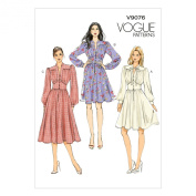 Vogue Patterns V9076A50 Misses' Dress Sewing Template, Size A5