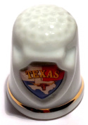 Texas State Souvenir Collectible Lpco Thimble