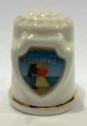 California Souvenir Collectible Lpco Thimble