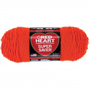 Coats Yarn Red Heart Super Saver Yarn, Flame