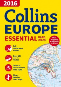 2016 Collins Essential Road Atlas Europe