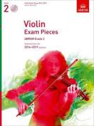 Violin Exam Pieces 2016-2019, ABRSM Grade 2, Score, Part & CD