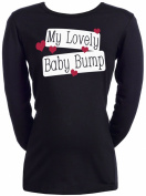 Spoilt Rotten - My Lovely Baby Bump - 100% Organic Cotton Maternity T-Shirt