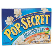 Microwave Popcorn Homestyle 100ml Bags 3 Bags/Box