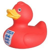 FA England Red Rubber Duck