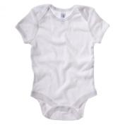 Bella Canvas 100 Baby Rib Short Sleeve One Piece Babygrow