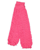 Ruffle baby leg warmers in various colours by juDanzy for girls, toddler, child (Hot Pink) Colour