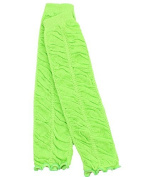 juDanzy Ruffle baby leg warmers in various colours for girls, toddler, child (Lime) Colour