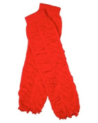 Ruffle baby leg warmers in various colours by juDanzy for girls, toddler, child (Red), One Size Colour