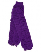 Ruffle baby leg warmers in various colours by juDanzy for girls, toddler, child (Purple) Colour