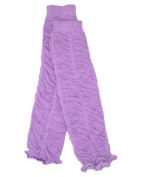 Lavender Ruffle baby leg warmers by juDanzy for girls, toddler, child, One Size Colour