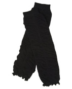 Ruffle baby leg warmers in various colours by juDanzy for girls, toddler, child (Black) Colour