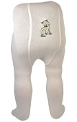 Baby Stockings White With Design