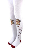 Baby Thermal Tights with Cat Motif