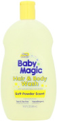 Baby Magic Hair And Body Wash 490ml Soft Powder Scent