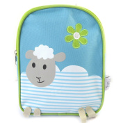 Child backpack 'Tom Et Zoé'green blue (sheep).