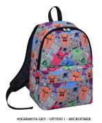 David & Goliath Backpack Rucksack Shoulder Bag 'Not Afraid Of The Dark' Monster Back To School