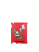 S14IT6008V3384065 Dsquared2 iPad Cases Women Polycarbonate Red