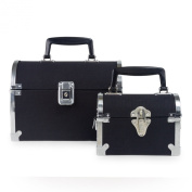 6/9 DOCTORS BAGS WITH CANVAS BODY METAL TRIMS