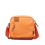 Kaylena Womens Water Resistant Crossbody Bag Orange