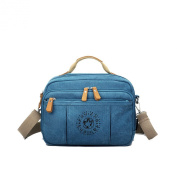 Kaylena Womens Water Resistant Crossbody Bag Blue[2way]
