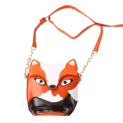 A-Szcxtop:Fox Single Shoulder Crossbody Bag Satchel Women Shoulder Bag Lovly Girls Handbag Cross Bag