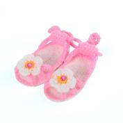Bigood(TM) Newborn Baby Girl Infant Crochet Bowknot Mary Jane Shoes Sandals