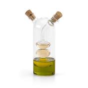 Olive Oil and Vinegar Glass Cruet Dispenser -Gift Funnel Glassware Bottle Pourer