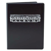 Ultra Pro Trading Card A4 9-Pocket Black Collectors Portfolio. Contains 10 A4 Nine Pocket Pages.