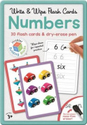 Numbers Building Blocks Flashcards in Large Tin