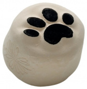 La Dot KT0009Z Temporary Tattoo Stone Puppy Paw Design Small with Black Tattoo Make-Up and Ink Pad
