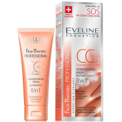 EVELINE Cosmetics Face Therapy Comprehencsive CC Cream 30ml Ilimunating Reduces Symptoms of Fatigue