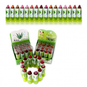 72 x Lipstick ALOE / VITAMIN E Wholesale JOB LOT UK