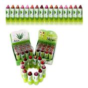 72 x Lipstick ALOE / VITAMIN E Wholesale JOB LOT UK