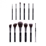 Nanshy Masterful Collection Makeup Brush Set - Onyx Black or Pearlescent White