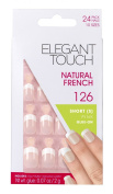 Elegant Touch Natural French Nails Number 126, Small/Pink