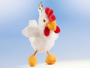 Rudolph Schaffer Brunhide Chicken Keyring Soft Toy