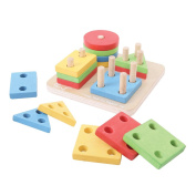 Bigjigs Toys BB094 First Four Shape Sorter