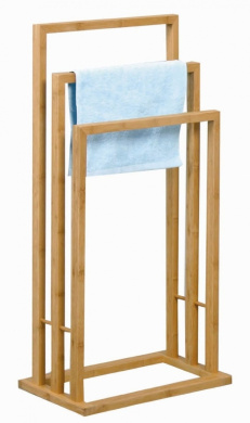 bamboo hand towel holder rack valet stand 40 x 24 5 x 83 cm by special trends shop. Black Bedroom Furniture Sets. Home Design Ideas